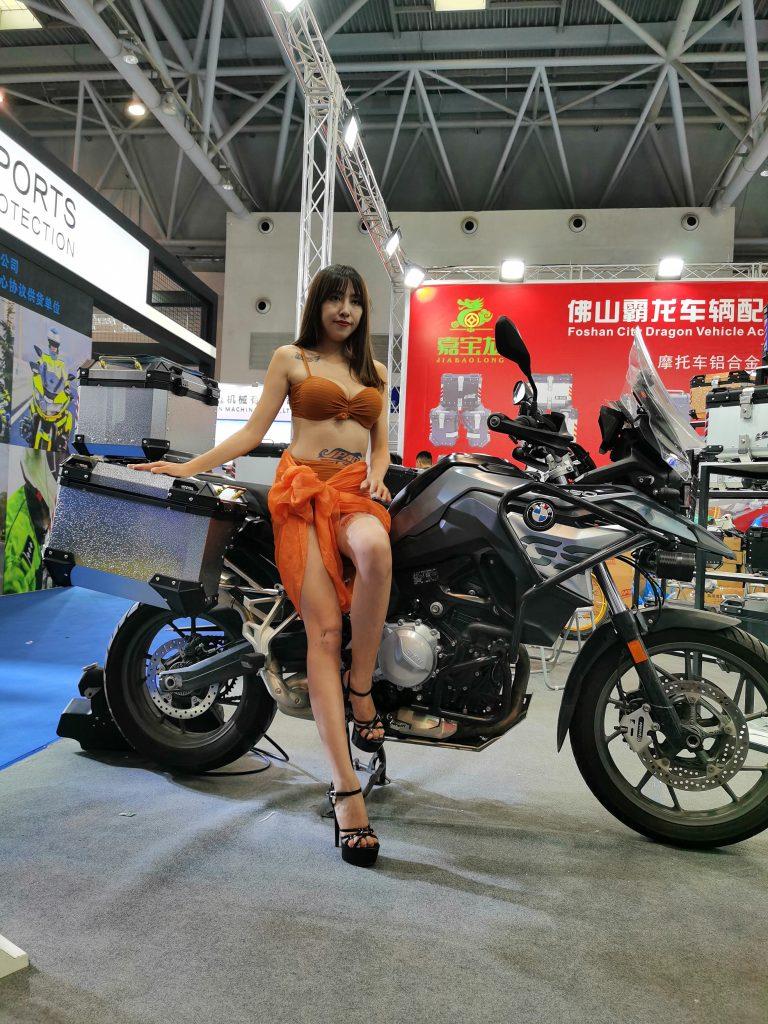 China Chongqing Motorcycle Show Models!