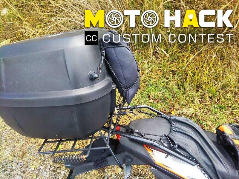 MOTO HACK: GIVI 43L Rear Box Carrier Extension for a Cramp-free Seat When Pillion Riding