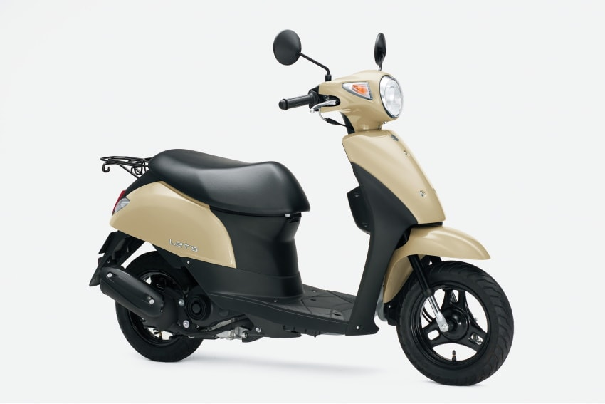 New Colors Available for SUZUKI LETS and Price Revision of the ADDRESS V50!