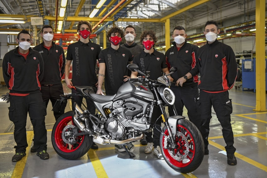 Ducati Starts Production of the New Monster