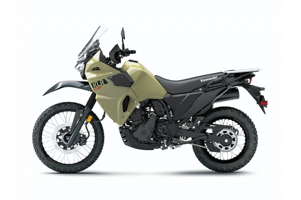 The All-New 2022 Kawasaki KLR®650 ABS: Rugged and Reliable