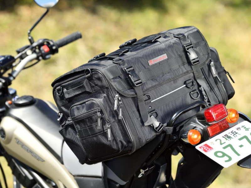 A Bag that Makes You Want to Go Out to Camp Touring! Henly Begins Seat Bag Won't Slip Off! [WMS2021]