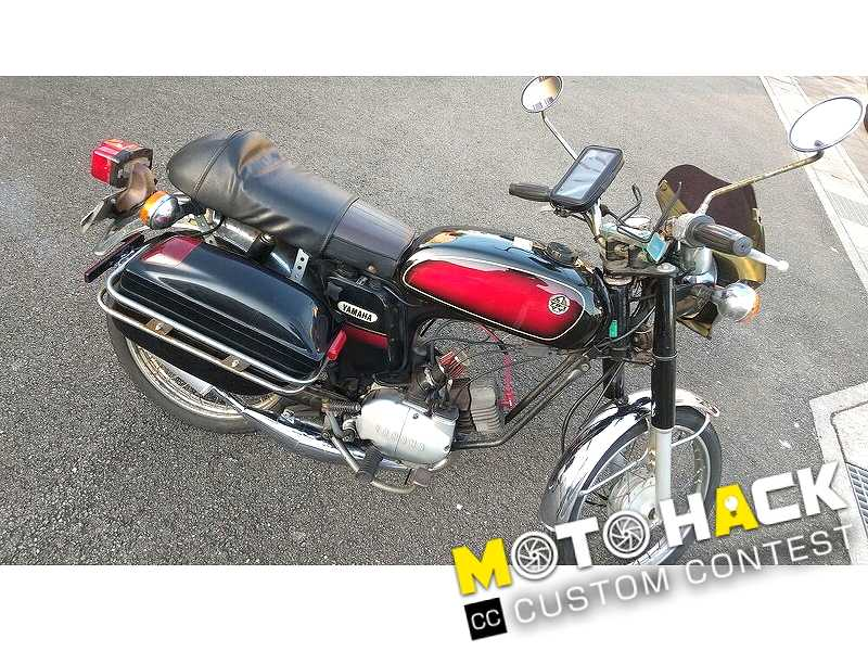 MOTO HACK: Power Up by Changing Chamber and Sprocket! Manual 2-stroke Moped, 17 Years Old YB-1