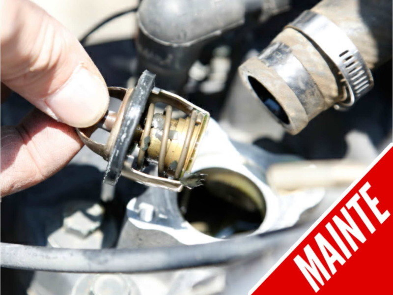 Long-Life Coolant Caution | Check the Thermostat and Reserve Tank When Replacing the Coolant!
