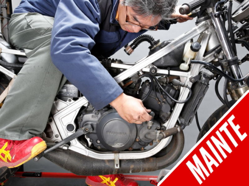 Checking the Air Cleaner is Important for a Long-term Immobilized Motorcycle
