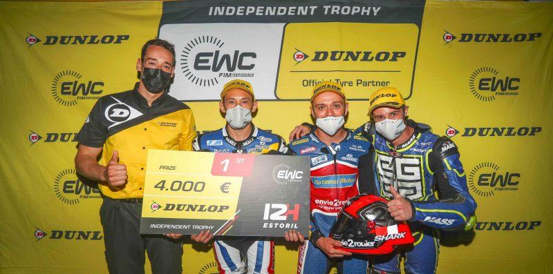 NATIONAL MOTOS WIN EWC DUNLOP INDEPENDENT TROPHY AT 12 HOURS OF ESTORIL