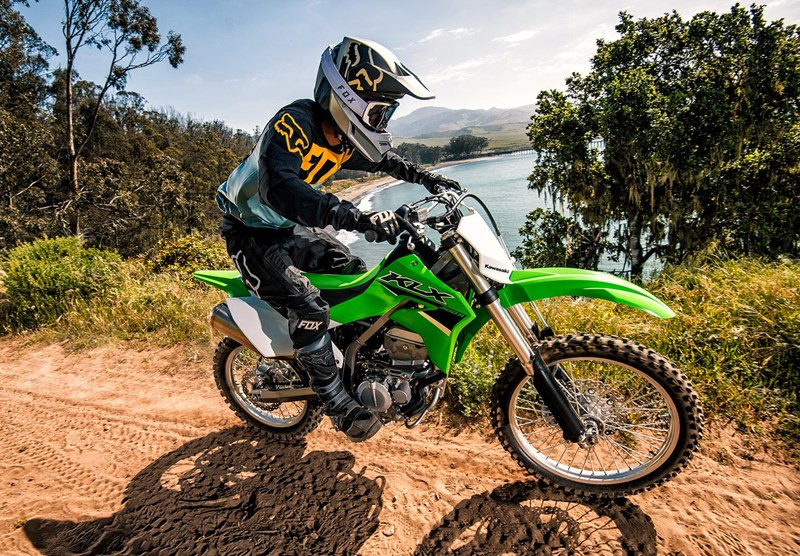 Ultimate Trail Motorcycle: 2022 KLX® 300R