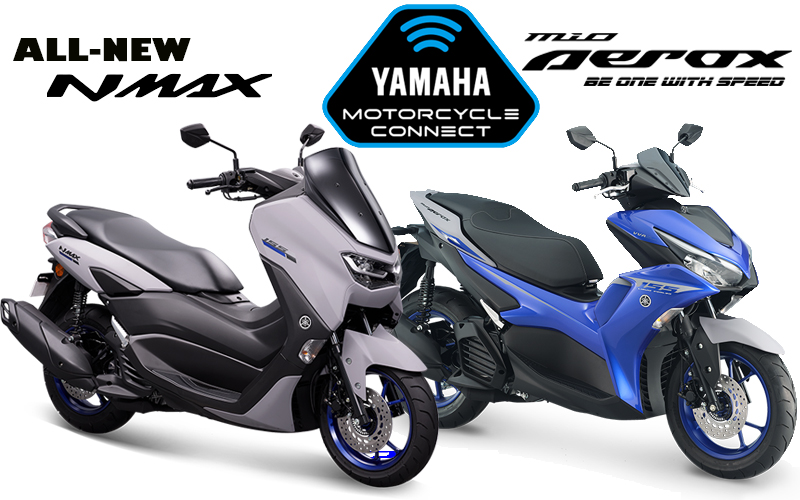Experience Riding with Y-CONNECT on Your New Mio Aerox and New NMAX!