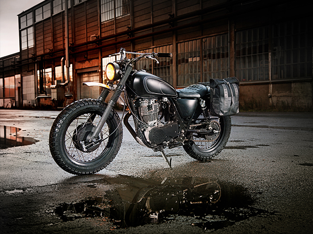 Yard Built Bring a Legendary Classic 'SR400 Gibbonslap' by Wrenchmonkees