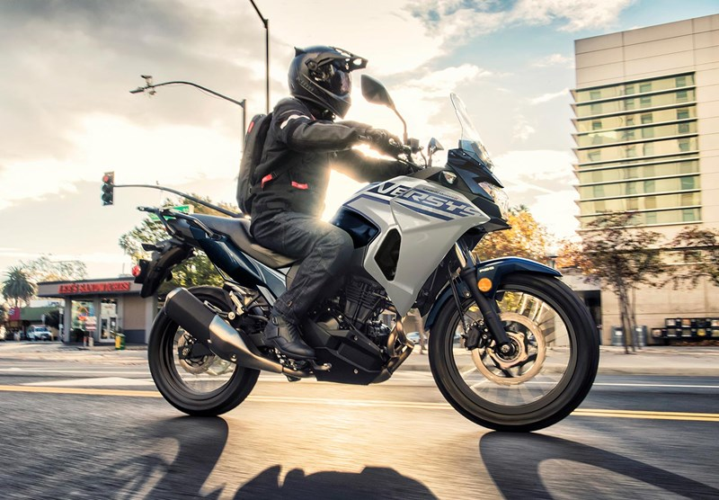 All-Day Comfort and Lightweight! Experience the New 2022 Versys®-X 300 ABS!