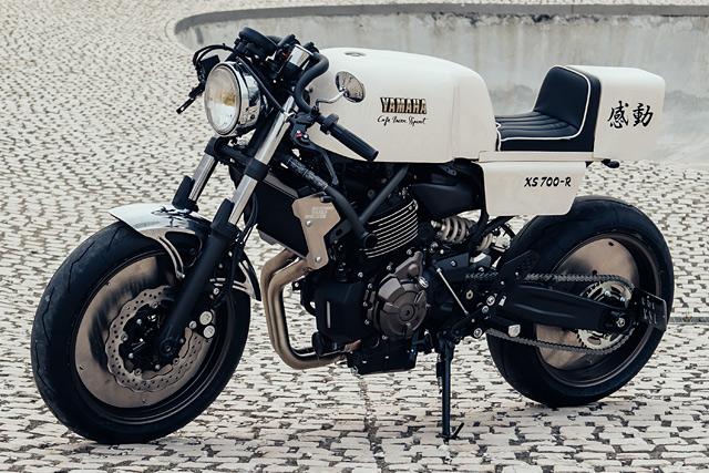 "Yard Built: ""Racing' Inspired XSR700-R by Café Racer SSpirit"